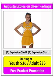 Augusta Explosion Cheerleading Package