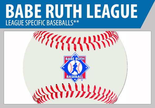 Babe Ruth Game Baseballs - Babe Ruth League Baseballs