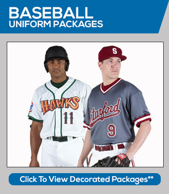 Baseball Team Sales and Team Uniform Packages