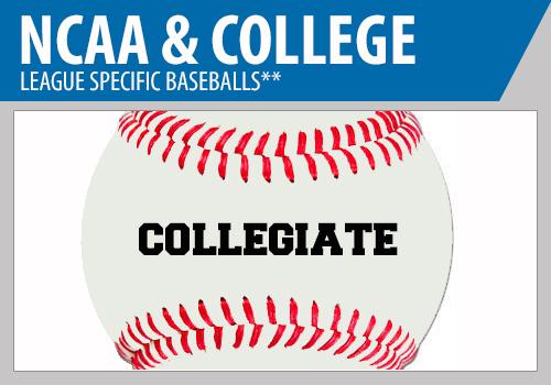 NCAA Baseballs - Collegiate Baseballs - NAIA Baseballs