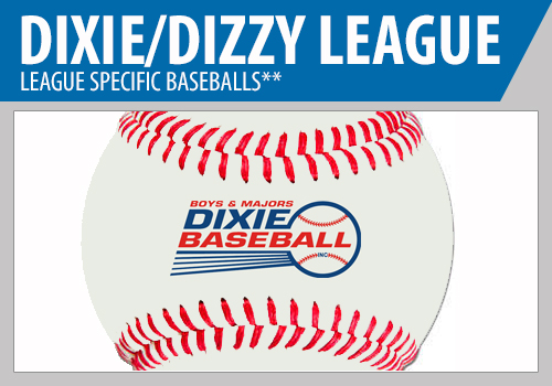 Dixie League Baseballs - Dizzy League Baseballs