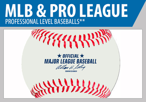 Major League Baseballs - Pro Level Baseballs