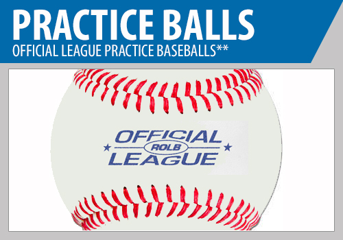 Practice Baseballs - Official League Baseballs - Batting Practice Baseballs