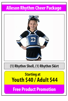 Alleson Rhythm Cheerleading Uniform Package