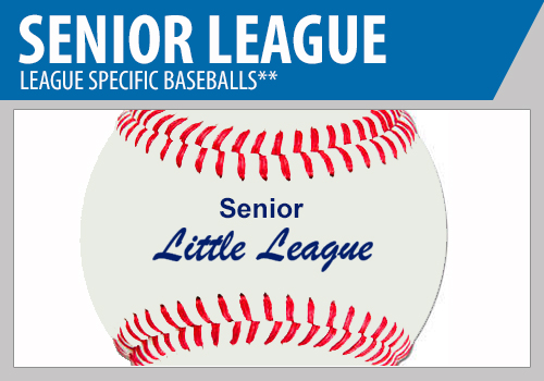 Senior League Baseballs