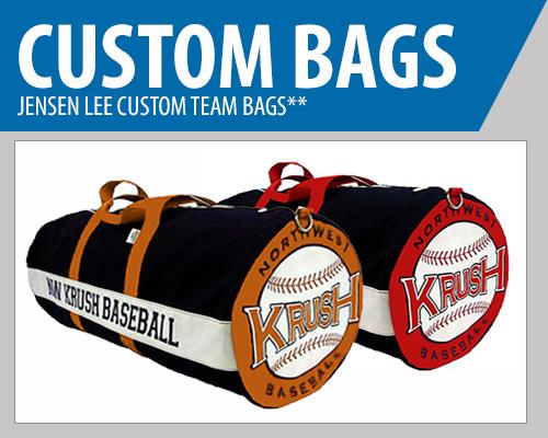 Custom Team Baseball Bags - Team Duffle Bags