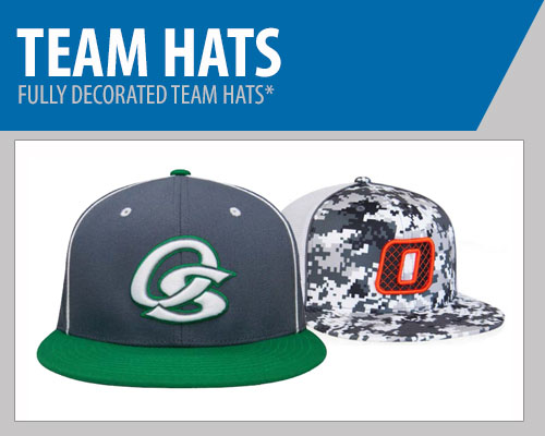 Baseball Team Hats - Custom Baseball Hats