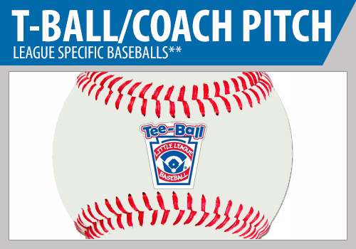 Tee Ball Baseballs - Low Compression Baseballs - Coach Pitch Baseballs