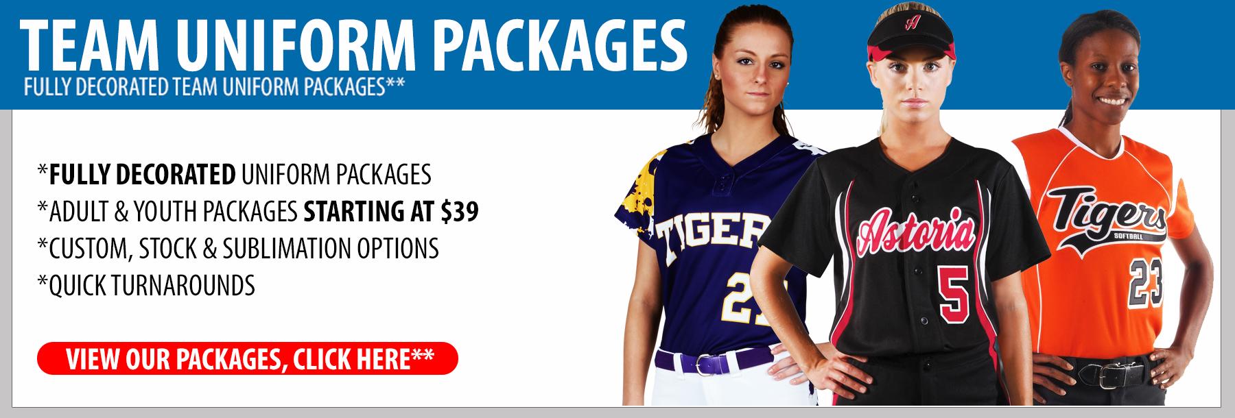 Womens Softball Uniform 108