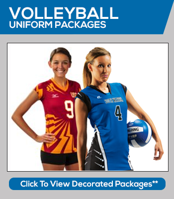 Volleyball Uniform Packages and Volleyball Team Sales