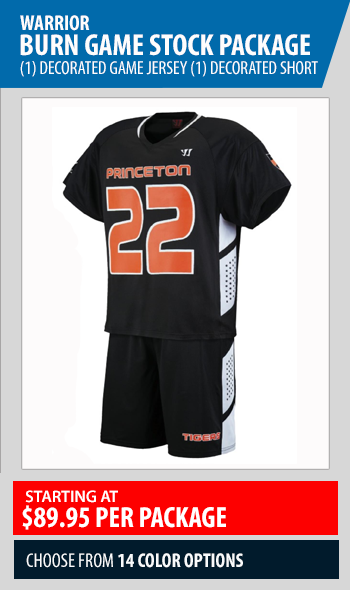 warrior burn stock uniform package
