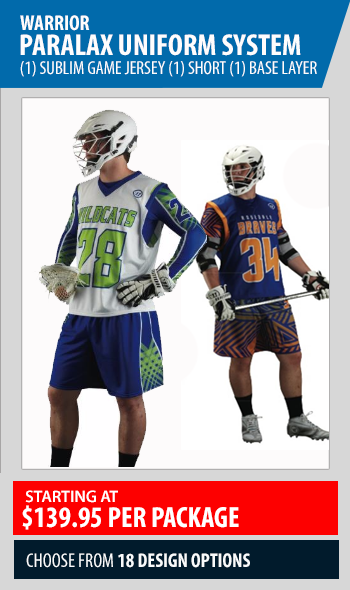 warrior paralax sublimated uniform system