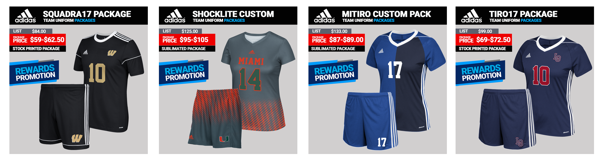 Adidas Custom Soccer Uniforms
