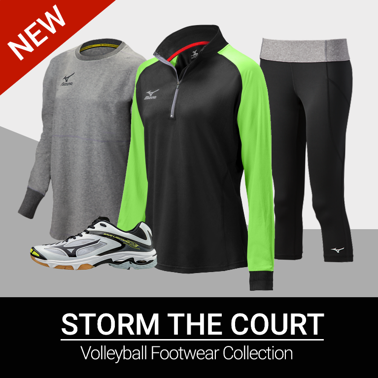 Mizuno Volleyball Apparel & Bags